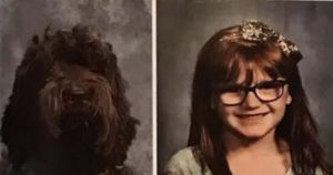 Seizure Alert Dog Gets Special Yearbook Photo