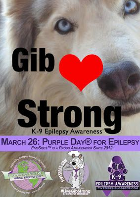 Welcome to Our LiveGibStrong Purple Day® for Epilepsy Annual Blog Hop!