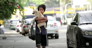 Homeless Boy Adopts Puppy And Names Him After Lost Brother