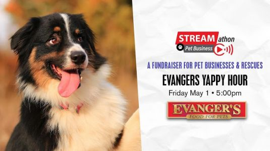 Evangers Helping Raise Money for Independent Pet Retailers and Pet Rescues