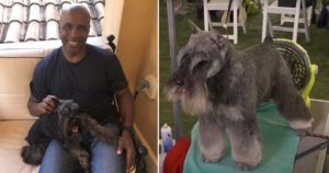 Baseball Player Barry Bonds Enters His Furry BFF In Westminster Dog Show