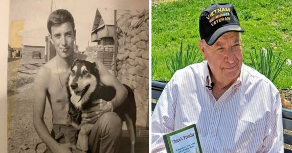 Vietnam Veteran Vows To Save 50,000 Dogs To Honor The K9 He Left Behind