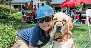 Buddy Dogs Help Children With Sight Loss Visualize A Brighter Future