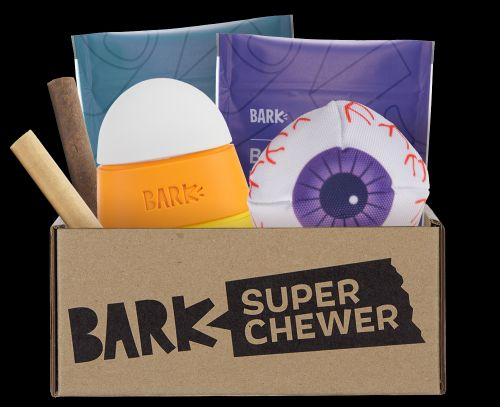 """Satisfy Your Dog's Werewolf-Sized Squeak-Tooth With Super Chewer's """"Lick Or Treat"""" Collection"""