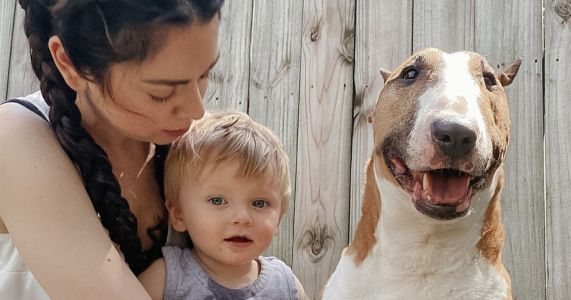 """YouTuber/New Mom Euthanizes Dog For Being """"Aggressive"""" And """"Old"""""""