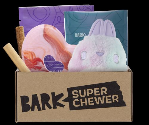 """Toss These Toys 'Til They're Outta Sight In Super Chewer's """"Peace & Ruff"""" Collection"""