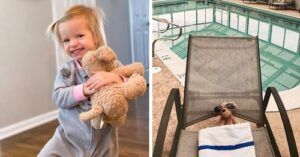 Stuffed Dog Lives It Up When Left At Hotel