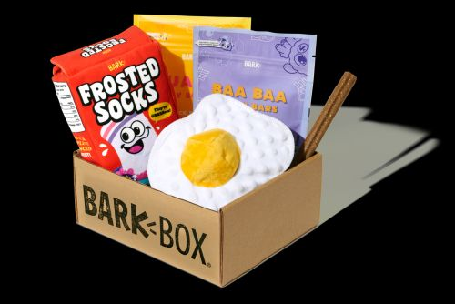 """Wakey, Wakey, Eggs & Bakey! The """"Barkfest In Bed"""" BarkBox Collection Is Served"""