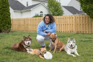 Football Star Named Pet Parent of the Year