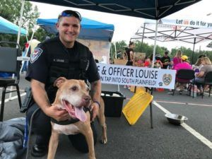 Officer Finds Dog Eating A Couch To Survive, Then Adopts Him Into His Family