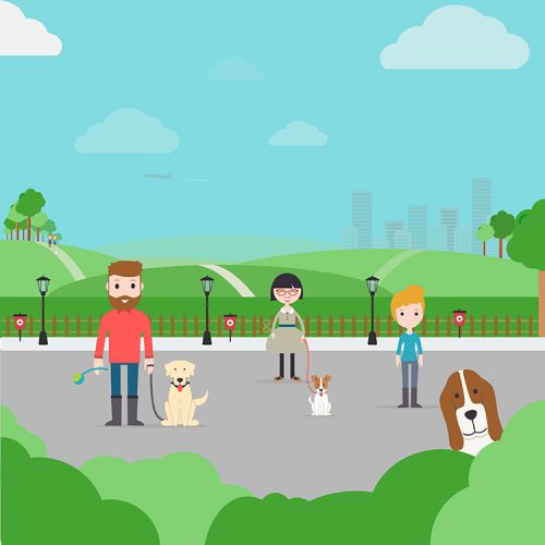 Brainteaser: Can You Spot 9 Differences In This Dog-friendly Park?